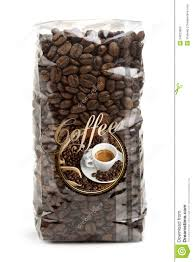 coffee beans bag. Simple Coffee Bag Of Coffee Beans And Coffee Beans Bag