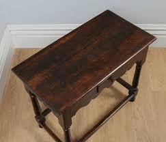 antique georgian 18th century style english country oak side table circa 1860
