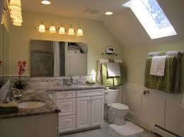 traditional bathroom decorating ideas. Skylight Lighting Ideas. Unique Slanted Ceiling With Cute For Traditional Bathroom Decorating Ideas Round
