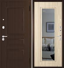 Входная дверь <b>Зеркало</b> Классик (Венге/Капучино): цены ...