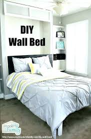 awesome wall bed with desk costs queen murphy costco23 bed