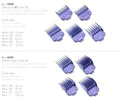 Andis Grooming Chart Andis Clipper Blades Agamingblog