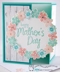 Happy Mothers Day My Mother Petite Petals Hardwood Circles