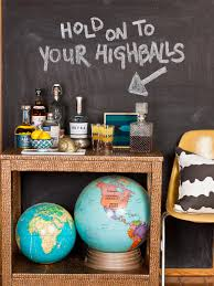 Ci Society Social Chalkboard Paint Bar Cart S Rend Hgtvcom ...