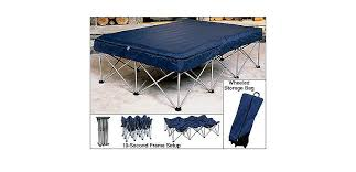 Cabela s Folding Air Bed Frame with Queen Air Bed and Pump Cabela s