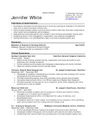 Nursing Resume Free Nurse Examples Graduate Template 01 Peppapp