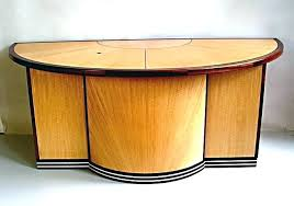 desk antique half round vintage used articles with office table tag reception desks computer side for couch com