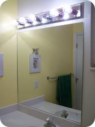 lighted bathroom mirrors home bathroom contemporary bathroom. Outstanding Frameless Square Mirror Installation And Bathroom Wall Mirrors With Inspiring Lighting Fixtures For Modern Decor Lighted Home Contemporary