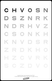 Pelli Robson Contrast Sensitivity Chart Pdf Downloads Mars Perceptrix