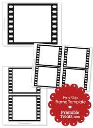 Printable Vertical Filmstrip Frame Template Frame Template