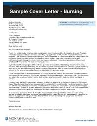Example Of A Cover Letter For Nursing 19 Printable Sample Cover Letter For Nursing Job Application