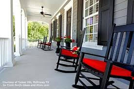 the porch furniture. White Front Porch Furniture Decoration Rocking Chairs Attractive Lake Real Incredible For In The