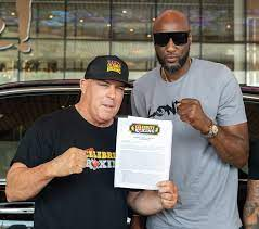 Celebrity Boxing Contract ...
