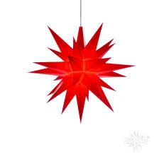 Herrnhuter Stern Innen 13cm Rot Mit Led Adventsstern Weihnachtsstern