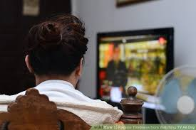 watching tv alone. image titled survive alone step 5 watching tv t