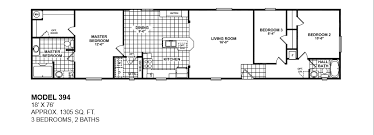 model 394 18x76 3bedroom 2bath oak creek mobile