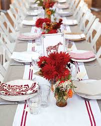red and white table decorations. Red And White Table Decorations H