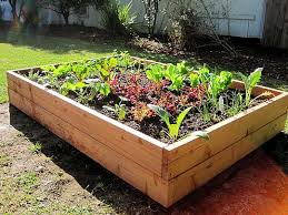 how to build a box garden. how to build a raised vegetable garden box wolverine hand tools e