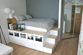 small room bedroom furniture. Small Room Storage Platform Bedroom Hack Living Ideas Furniture