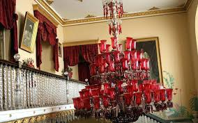 red crystal chandelier ruby red chandelier ruby red chandeliers at the palace by ruby red crystal red crystal chandelier