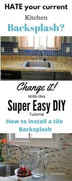 How To Install Kitchen Tile How To Install A Kitchen Tile Backsplash The Easy Way Toolbox Divas