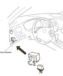 honda civic main relay location 92 93 94 and 95 civic main relay removal procedure