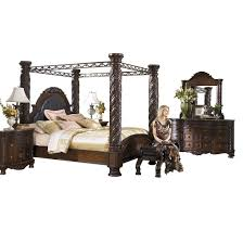 Ashley Furniture North Shore Canopy Bed Set