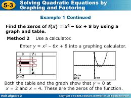 solving quadratic equations calculator by factoring jennarocca