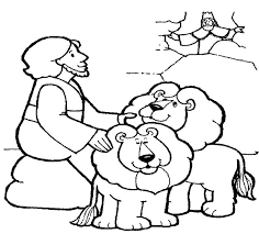 Small Picture King Throw Daniel into Lions Den in Daniel and the Lions Den