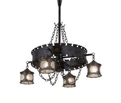 antique gothic reion 4 lantern chandelier by 2nd ave lighting suspended lights
