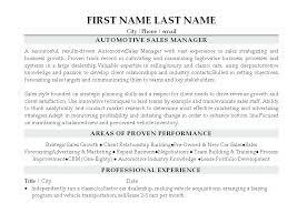 Car Sales Manager Jobs Car Sales Manager Resume Car Sales Manager