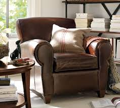 who makes pottery barn furniture. Simple Barn Manhattan Leather Armchair In Who Makes Pottery Barn Furniture F