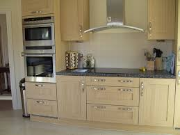 White Stained Wood Kitchen Cabinets Rectangle Goose Pillows Floating Pine Wood Shelf Cabinet Brown