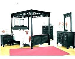 Queen Wood Canopy Bed Frame Room Twin Size C – thebuddhaplay.com