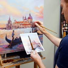turn photo into paintings
