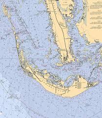 Pine Island Sound Chart Sanibel And Captiva Islands Nautical Chart