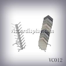 Metal Display Racks And Stands metal display rack for granite sample display VC100 also know as 81