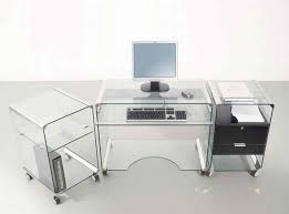 glass home office desks. lovely glass top office desk with drawers fabulous home decoration design desks
