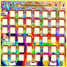 Attendance Chart Attendance Chart For Kindergarten Printable Www