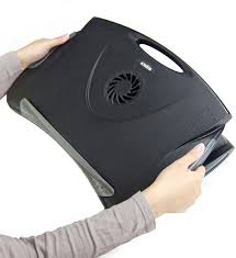 adjule laptop lap desk with cooling fan image any image to view in high resolution