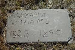 """Mary Ann """"Polly"""" Crawford Williams (1823-1890) - Find A Grave Memorial"""