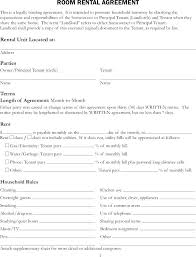 Hunting Rental And Lease Form Fascinating Simple Rental Agreement Template Ramautoco
