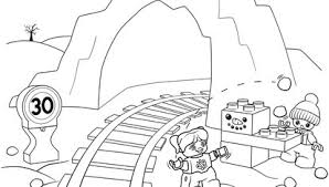 Preschool Coloring Pages Support Lego Education