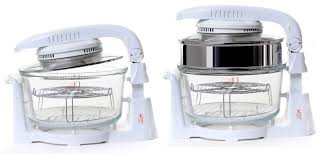 Fast Cooking Ovens Halogen Oven With Hinged Lid Halogen Oven Cooking