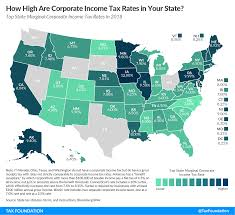 state corporate ine tax rates and brackets 2018