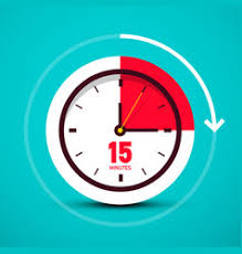 15 Min Timer Fifteen Minute Timer Vector Images Over 330