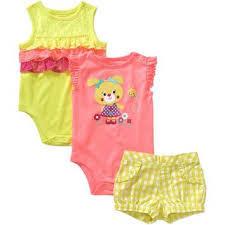 Walmart Baby Girl Clothes Inspiration Garanimals Newborn Baby Girl Bodysuit And From Walmart