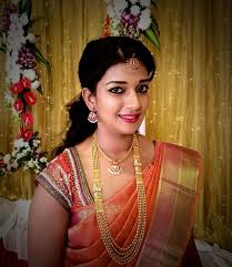 south indian bridal with pattu saree and stunning makeup southindian bridalsaree bridalmakeup