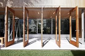 decoration glass walls folding patio doors custom bifold doors lacantina with folding glass door decorating