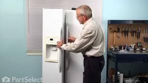 Ge Profile Refrigerator Problems Refrigerator Repair Replacing The Temperature Sensor Ge Part
